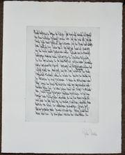 Faximile 3 Drucke von Manuskriptseiten