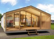 Mobilheim Fertighaus Holzhaus Chalet Tinyhaus