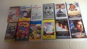 Klassische VHS Viedofilme zu verkaufen