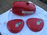 Simson S50 S51 Tank und