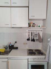 weiße gebrauchte küchenzeile