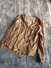 Damen-Bluse braun Biba Gr 42