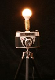 REGULA Rangefinder VINTAGE KAMERA LAMPE