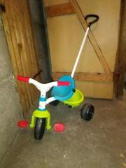Dreirad mit Lenkstange