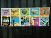Briefmarken State of Oman 1970