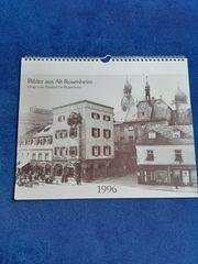 Kalender mit Bildern aus Alt-Rosenheim
