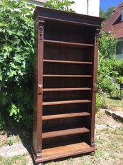Schrank antik für Bücher Eiche