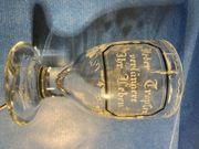 Glas antik mundgeblasen