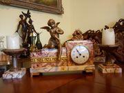 Pariser Uhr aus Marmor Art