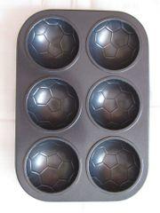 Fußball Muffin Backform Backblech für