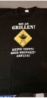 Verkaufe ein Grill-T-Shirt in 4XL