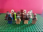 12 Lego Star Wars Figuren