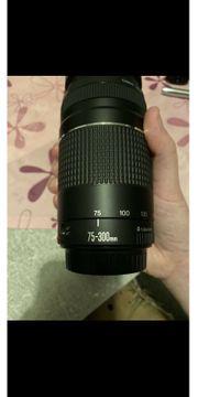 verkaufe Zoom EF Objektiv 75-300