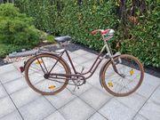 Schönes altes NSU-Fahrrad für Liebhaber