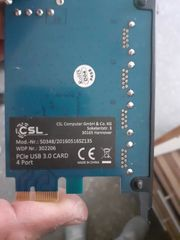 USB 3 steckkarte