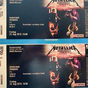 2 Tickets Metallica Konzert Olympiastadion