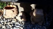 Frosch Igel Schildkröte aus Ton