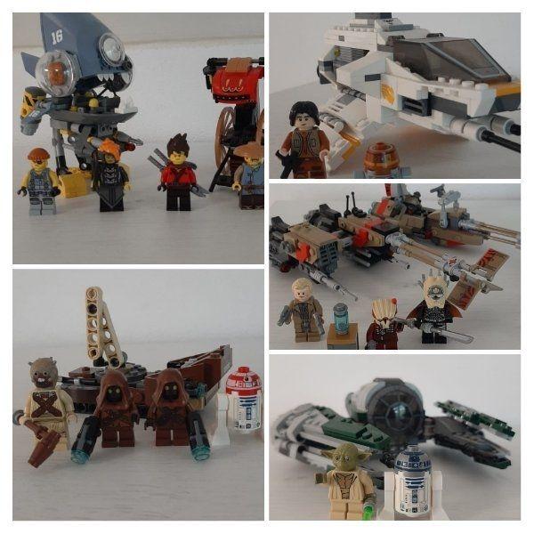 Lego Set Star wars Ninjago
