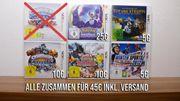 5 Nintendo 3DS Spiele Pokemon