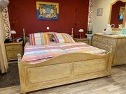 Schlafzimmer Komplett Massivholz Pinie gelaugt