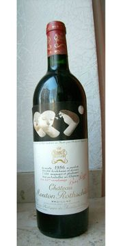 Mouton Rothschild 1986 0 75l