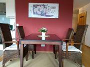 Esszimmer Tisch ausziehbar plus 4