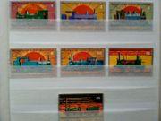 Briefmarken Guyana Lokomotiven