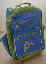 Kinderkoffer - sigikid blau - Pirat