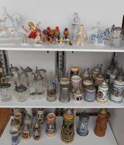 wunderschöne alte - Porzellanfiguren Keramik Glas