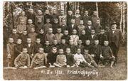 Friedrichsgrün Klassenfoto 1918 Ansichtskarte AK