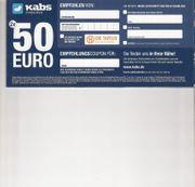 50 Euro Gutschein von KABS