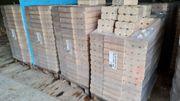 Palette Holz Briketts aus Hobelspänen -