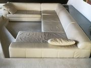 komfortable Ledercouch