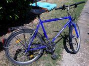 Herren Fahrrad blau 26er abzugeben