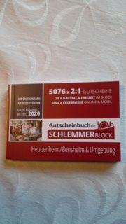 Schlemmerblock 2019 2020 Heppenheim Bensheim