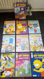 Simpsons Comics 10 Hefte - Nr