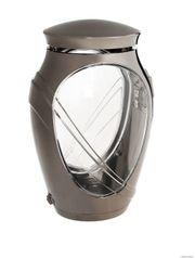 Exclusive Grablampe Kamelia dunkel Grablaterne