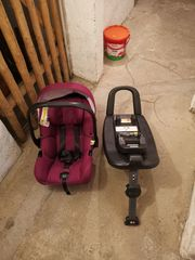 Babyschale mit Isofixbase
