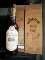 Macallan Whisky Royal Marriage 1948 -