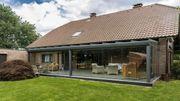 Terrassendach aus Aluminium
