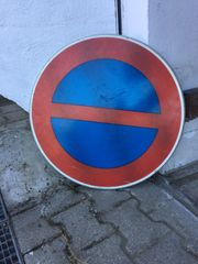 Tischplatte Straßenschild