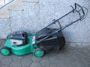 Starker Benzin-Rasenmäher mit Metall-Gehäuse Marke
