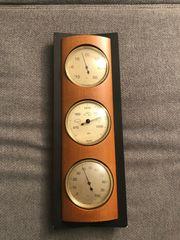 Hygro- Baro- und Thermometer Kombi