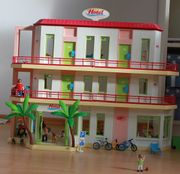 Playmobil Ferienhotel mit Zusatzetage Bus