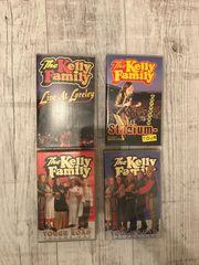 Kelly Family VHS Kassetten Videokassetten