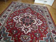 Woll-teppich hübsches Muster ca 240x160cm