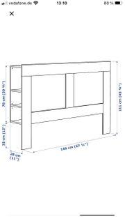 IKEA Brimnes Kopfteil für 140cm