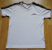 T-Shirt Gr XL weiß mit Stickerei
