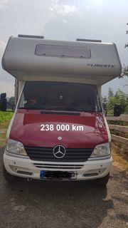 Mercedes Wohnmobil