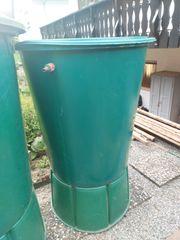 2 Regenwassertonnen incl Monoblockstand gebraucht